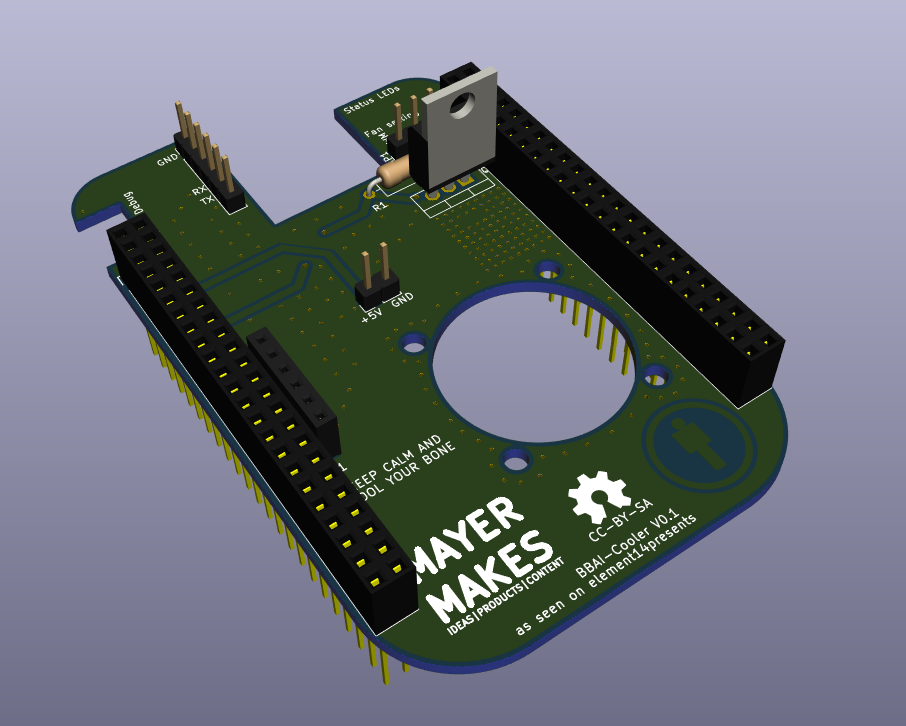 VVAI-Cooler PCB