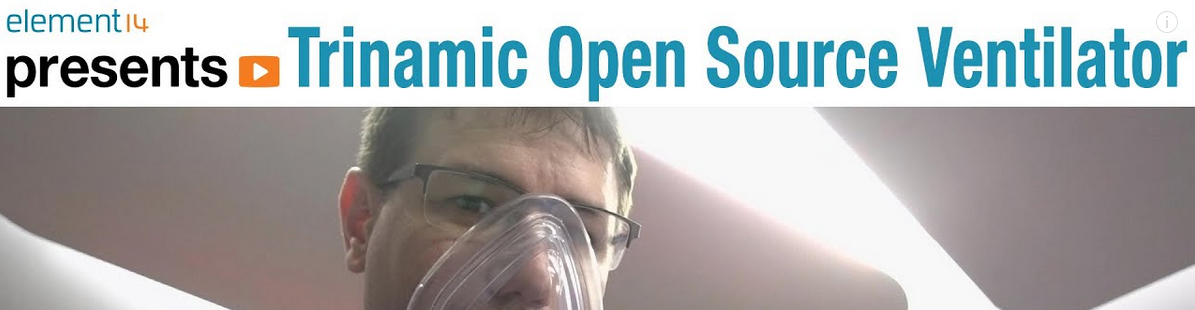 Trinamic open source ventilator